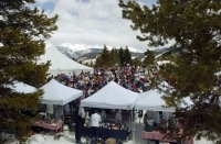 A spectacular day in the Colorado High Country for the Mountaintop Picnic.