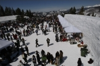 The premier event of Taste of Vail is the Mountain Top Picnic atop Vail Mountain.