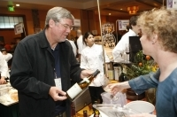 Winery owners and winemakers pour their best wines at the final event of Taste of Vail, The Grand Tasting.