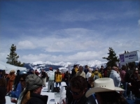 The sky's the limit at the Mountaintop Picnic, on top of Vail Mountain.