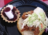 What's a picnic without cole slaw and brisket?