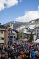 The Lamb/Apre's event on Willow Bridge Road in Vail