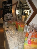 Fortessa's glassware is everywhere at Taste of Vail.