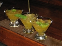 Terra Bistro's Passion Fruit Margarita was runner up in the People's Choice competition.