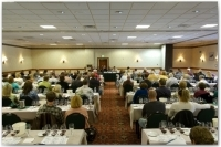 The intricacies of great pinot noir and Rhone varietals are topics of lively discussion at Taste of Vail's wine seminars at the Vail Marriott Mountain Resort & Spa.