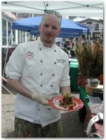 Chef Bernard Clancy of Two Elk presents his