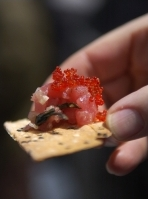 Nothing like caviar at more than 10,000 feet above sea level during the Mountaintop Picnic.