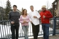 The guest chefs at the 2008 Taste of Vail included Chefs Tony Aiazza (Aureole, NYC), Joseph Manzare (Zuppa, San Francisco), Curtis Lincoln (Brown Palace Hotel, Denver) and Diane Henderiks (Dietician in the Kitchen).