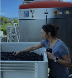 Winemaker Antonia  De Heinrich